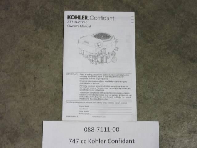 Kohler Confidant 7 Manual