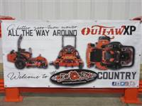 Bad Boy Mower Part - 088-8075-00 - 2018 3X6 Outlaw XP Banner