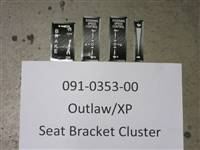 Bad Boy Mower Part - 091-0353-00 - Outlaw/XP Seat Bracket Decal Cluster