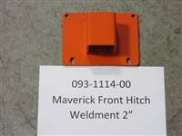 Bad Boy Mower Part - 093-1114-00 - Maverick Front Hitch Weldment