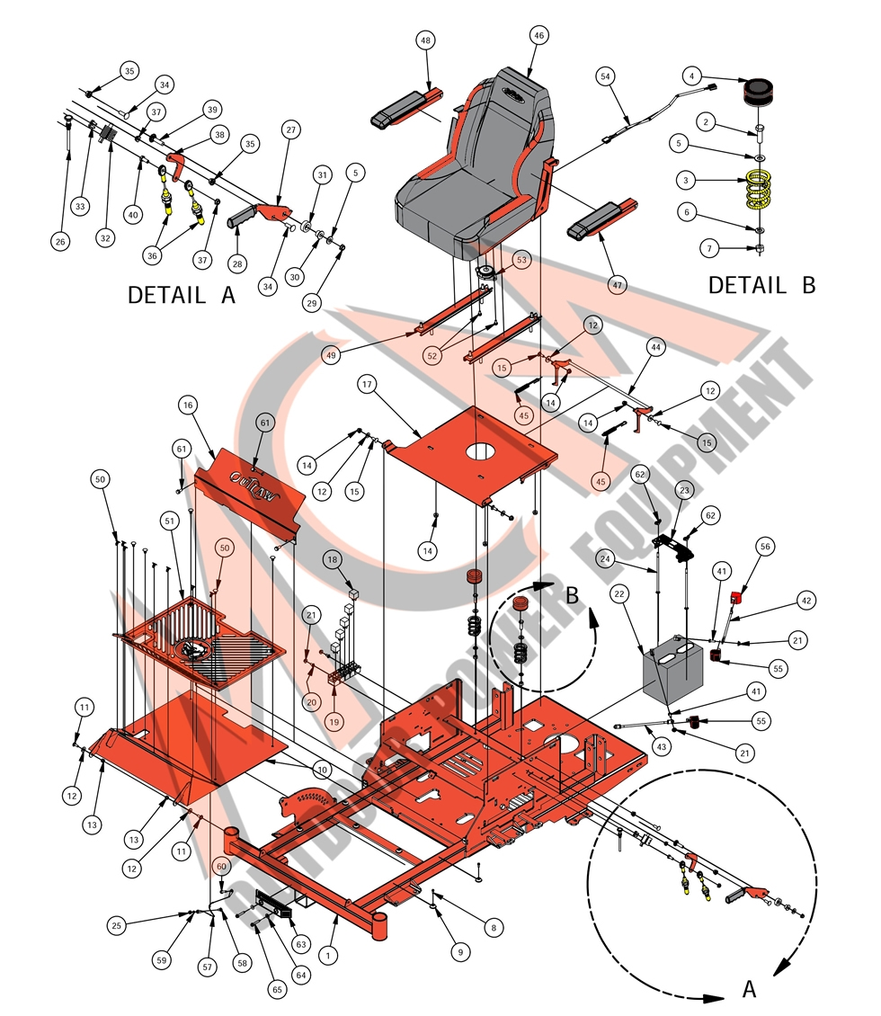 Bad Boy Mower Part 2016 Compact Outlaw Seat Assembly Wiring Diagram Larger Photo