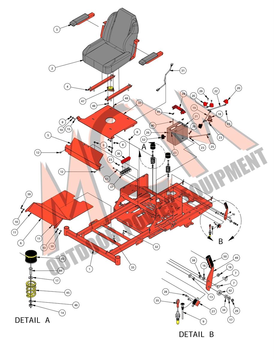 Bad Boy Mower Part, 2016 ZT ELITE SEAT FRAME EMBLY Bad Boy Zt Wiring Diagram on bad boy parts diagram, bad boy controller diagram, bad boy accessories, lawn boy wiring diagram, bad boy horn diagram,