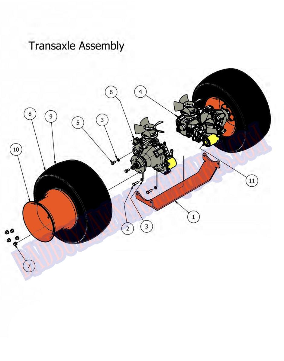 bad boy wiring diagram 2012 bad boy mower part  2012 outlaw transaxle assembly  bad boy mower part  2012 outlaw