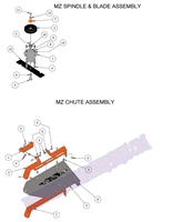 Bad Boy Mower Part 2014 MZ  SPINDLE & BLADE ASSEMBLY