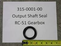 Bad Boy Mower Part - 315-0001-00 - Output Seal for RC-51 / RC-61 Gearbox