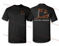Bad Boy Mower Part - 400-0002-04 - Standard Black Tee XL - ONLY AVAILABLE IN 2019 LOGO