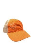Bad Boy Mower Part - 401-0006-18 - Orange//TAN Mesh Hat NEW LOGO