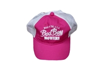 Bad Boy Mower Part - 401-0029-01 - Pink/Khaki Mesh Hat