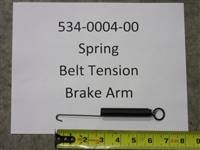 Bad Boy Mower Part - 534-0004-00 - Spring, Belt Tension/Brake Arm for Push Mower
