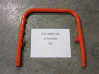 Bad Boy Mower Part - 572-0003-00 - U-handle, G2 for Push Mower