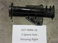 Bad Boy Mower Part - 637-0006-16 - 2 Speed Axle Housing - RH