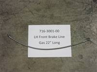 Bad Boy Mower Part - 716-3001-00 - LH Front Brake Line