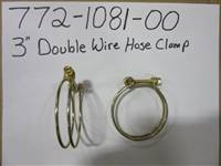 "Bad Boy Mower Part 3"" DOUBLE WIRE HOSE  CLAMP"