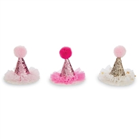 Glitter Party Hat Clip at Little-Minnows.com