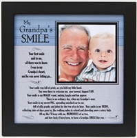 Frame 8x8 Grandpa's Smile available at Little-Minnows.com