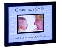 Frame 8x10 Grandma's Smile Love available at Little-Minnows.com