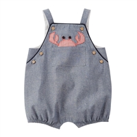 Boys' Chambray Crab Bubble at Little-Minnows.com