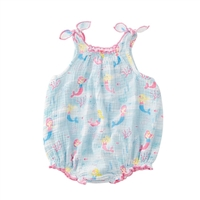 Mermaid Sunsuit available at Little-Minnows.com