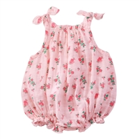Girls' Tiny Rose Muslin Bubble available at Little-Minnows.com