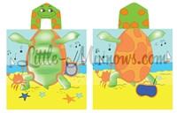 Kids Turtle Towel