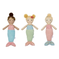 Mermaid Rattles available at Little-Minnows.com