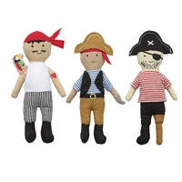 Pirate Rattles available at Little-Minnows.com