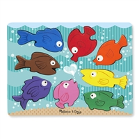 Colorful Fish Chunky Puzzle