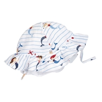 Muslin Mermaid Sail Away Sun Hat
