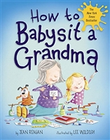 How To Babysit Grandma Book www.Little-Minnows.com