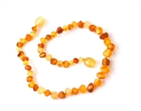 "Raw Duo Light Healing Amber 11"" Necklace"