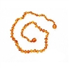 "Raw Caramel Healing Amber 13"" Necklace"