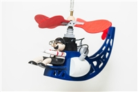 Helicopter With Pilot Whimsical Bouncer Available at Little-Minnows.com