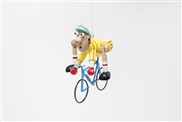 Bicycle Guy Whimsical Bouncer Available at Little-Minnows.com