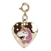 Charm Gold Unicorn Locket