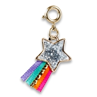 Charm Gold Glitter Shooting Star