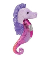 Pink and Purple Seahorse Plush Available at Little-Minnows.com