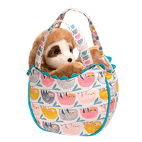 Girls' Sloth Sassy Sak with Sloth Plush Inside at Little-Minnows.com