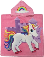 Kids Unicorn Hooded Towel