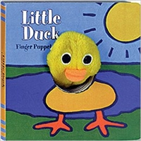 Little Duck Finger Puppet Board Book at Little-Minnows.com