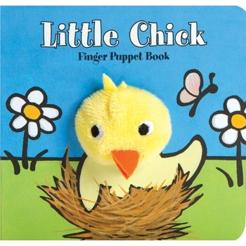 Little Chick Finger Puppet Board Book at Little-Minnows.com