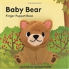 Baby Bear Finger Puppet Board Book at Little-Minnows.com