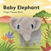 Baby Elephant Finger Puppet Board Book at Little-Minnows.com