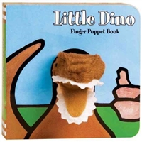 Little Dino Finger Puppet Board Book at Little-Minnows.com
