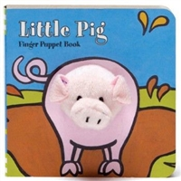 Little Pig Finger Puppet Board Book at Little-Minnows.com