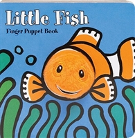 Little Fish Finger Puppet Board Book at Little-Minnows.com