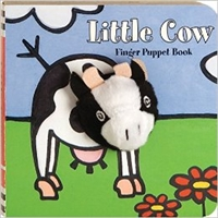 Little Cow Finger Puppet Board Book at Little-Minnows.com