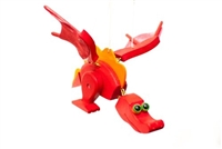 Red Dragon Whimsical Bouncer Available at Little-Minnows.com