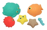 Seaside Sidekicks Sand Molding Set Sand or Beach Toy
