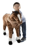 Horse Giant Stuffed Animal Available at Little-Minnows.com
