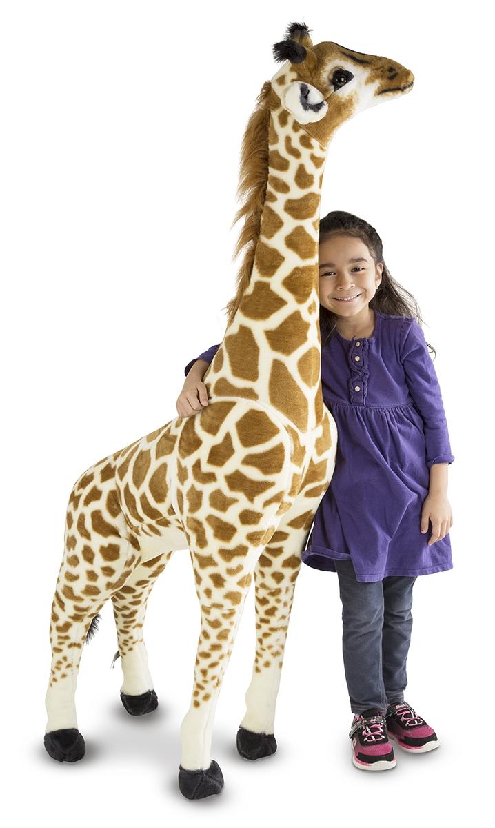 Melissa And Doug Giraffe Giant Stuffed Animal Available At Little